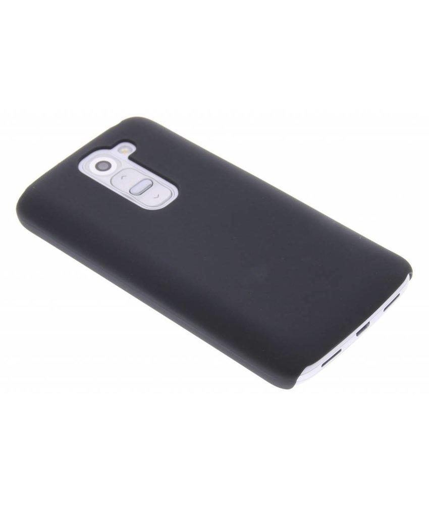 Zwart effen hardcase hoesje LG G2 Mini