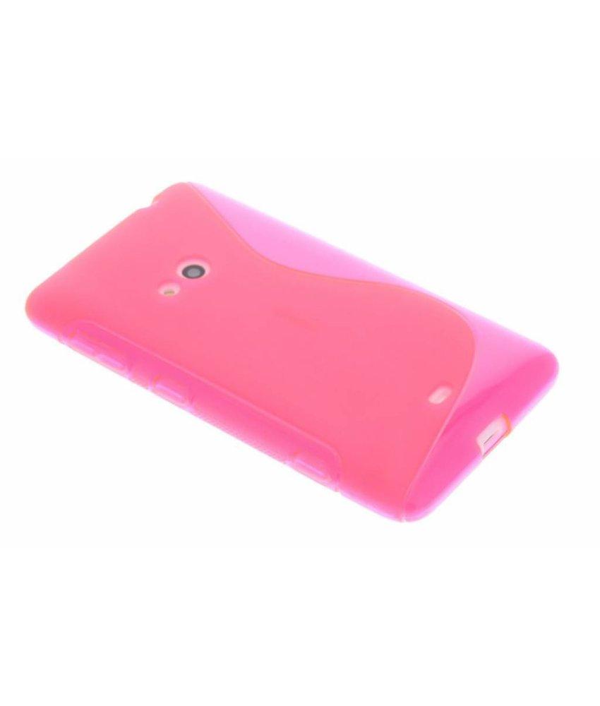 Rosé S-Line TPU hoesje Nokia Lumia 625