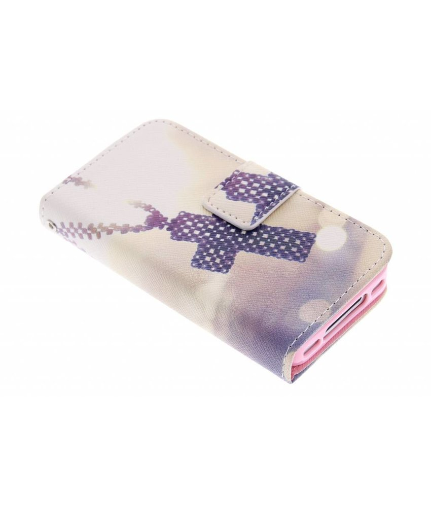 Design TPU booktype hoes iPhone 4 / 4s
