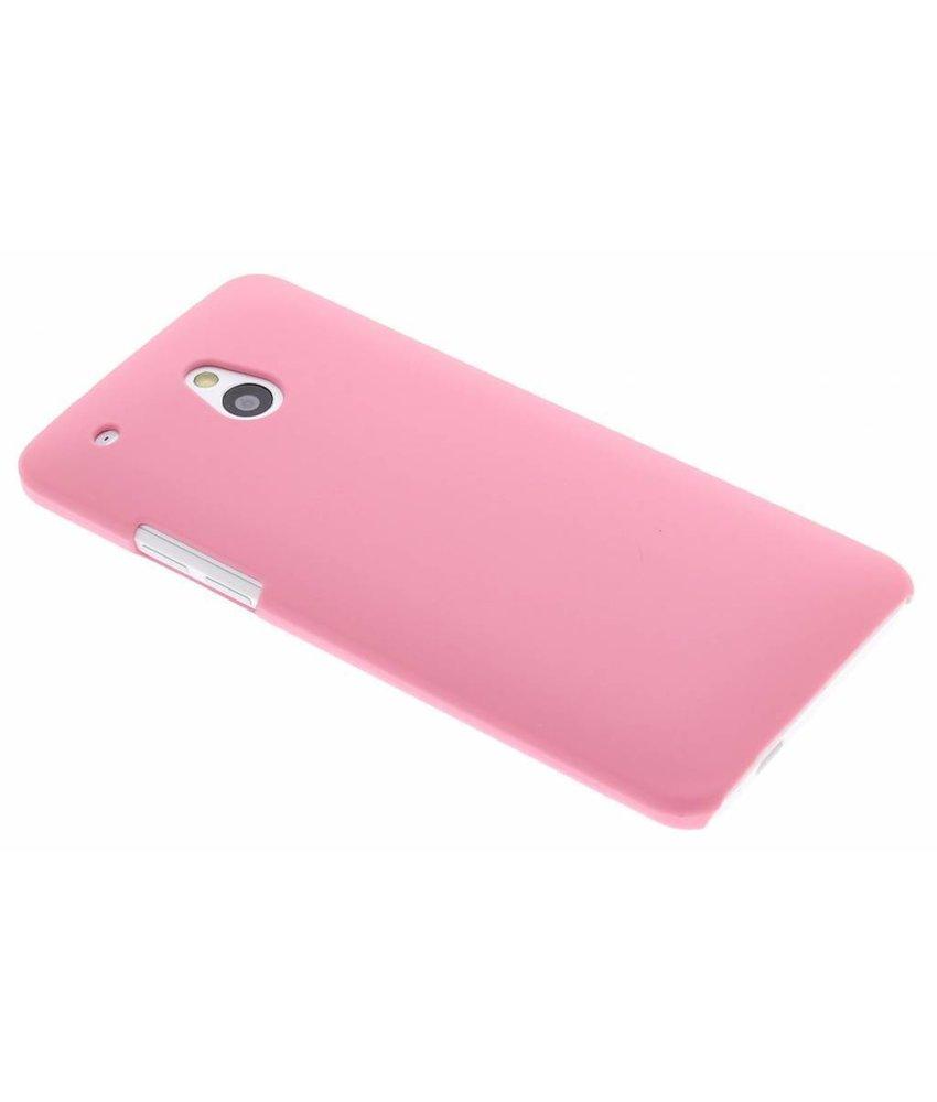Roze effen hardcase HTC One Mini