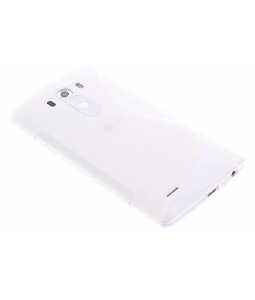 Transparant S-line TPU hoesje LG G3