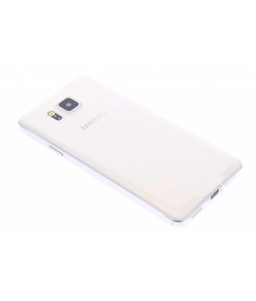 Ultra thin transparant TPU hoesje Samsung Galaxy Alpha