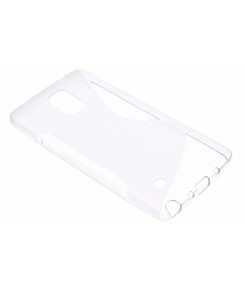 Transparant S-line TPU hoesje Samsung Galaxy Note 4