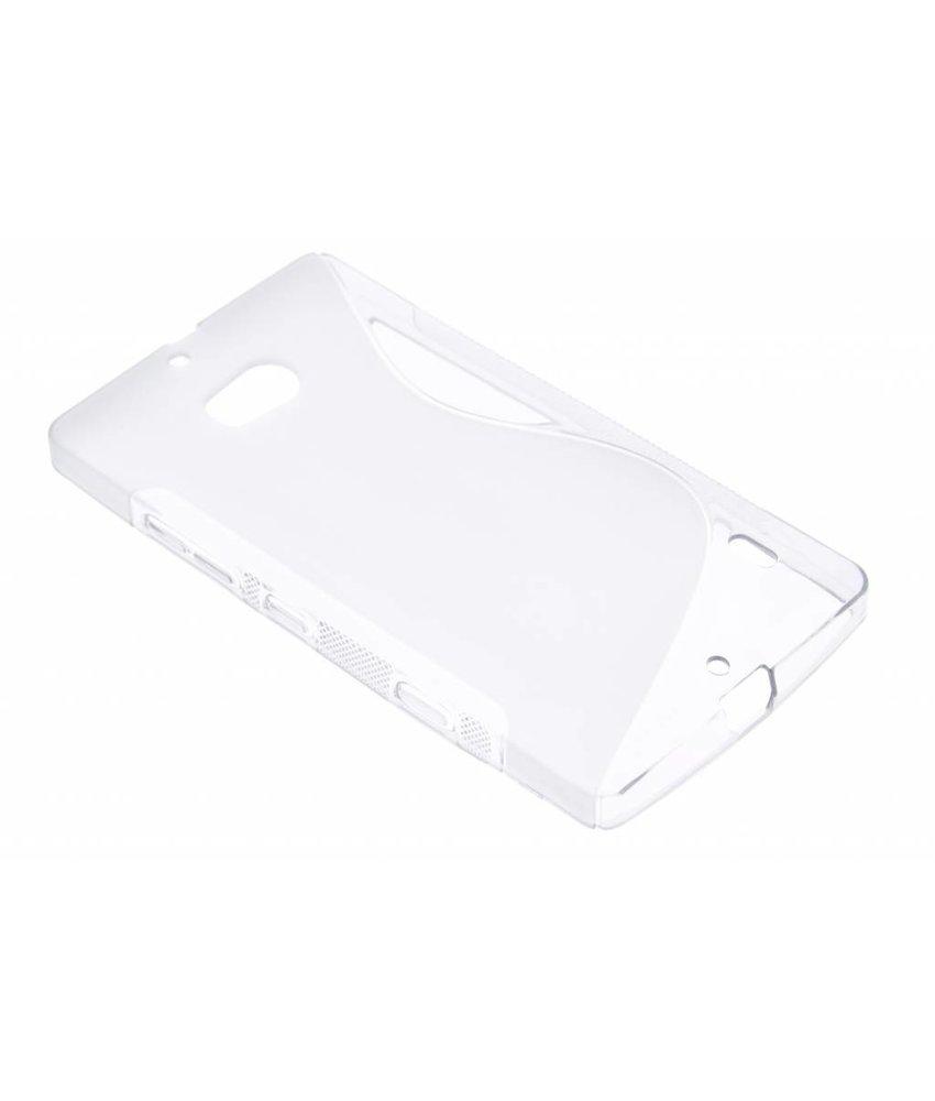 Transparant S-line TPU hoesje Nokia Lumia 930