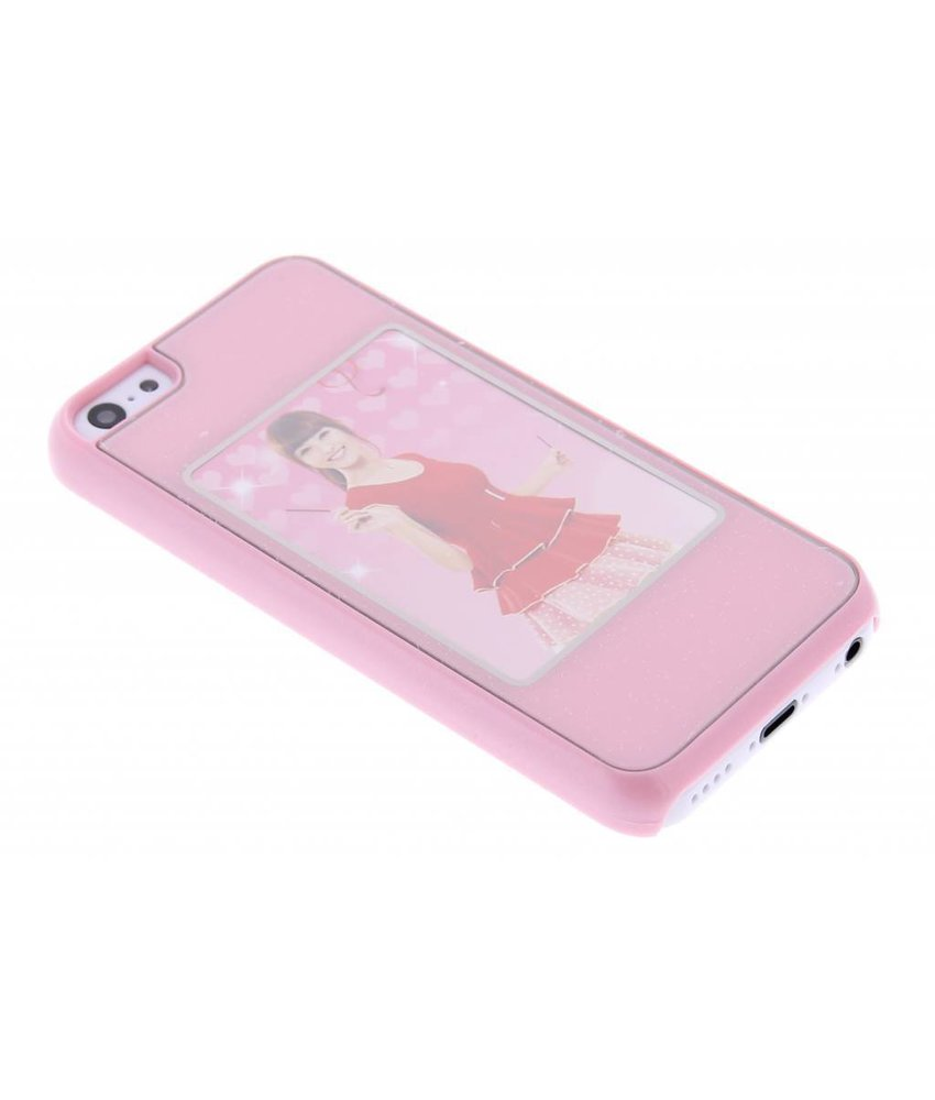 Roze picture frame hardcase iPhone 5c