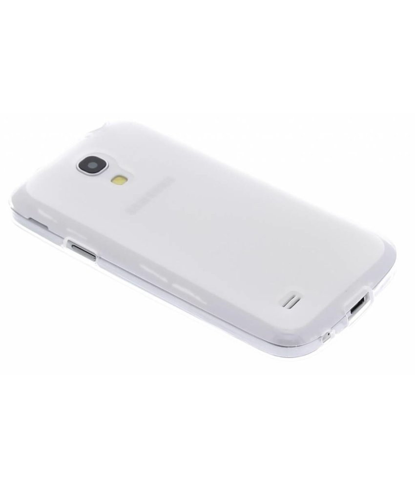 Transparant hard siliconen hoesje Samsung Galaxy S4 Mini