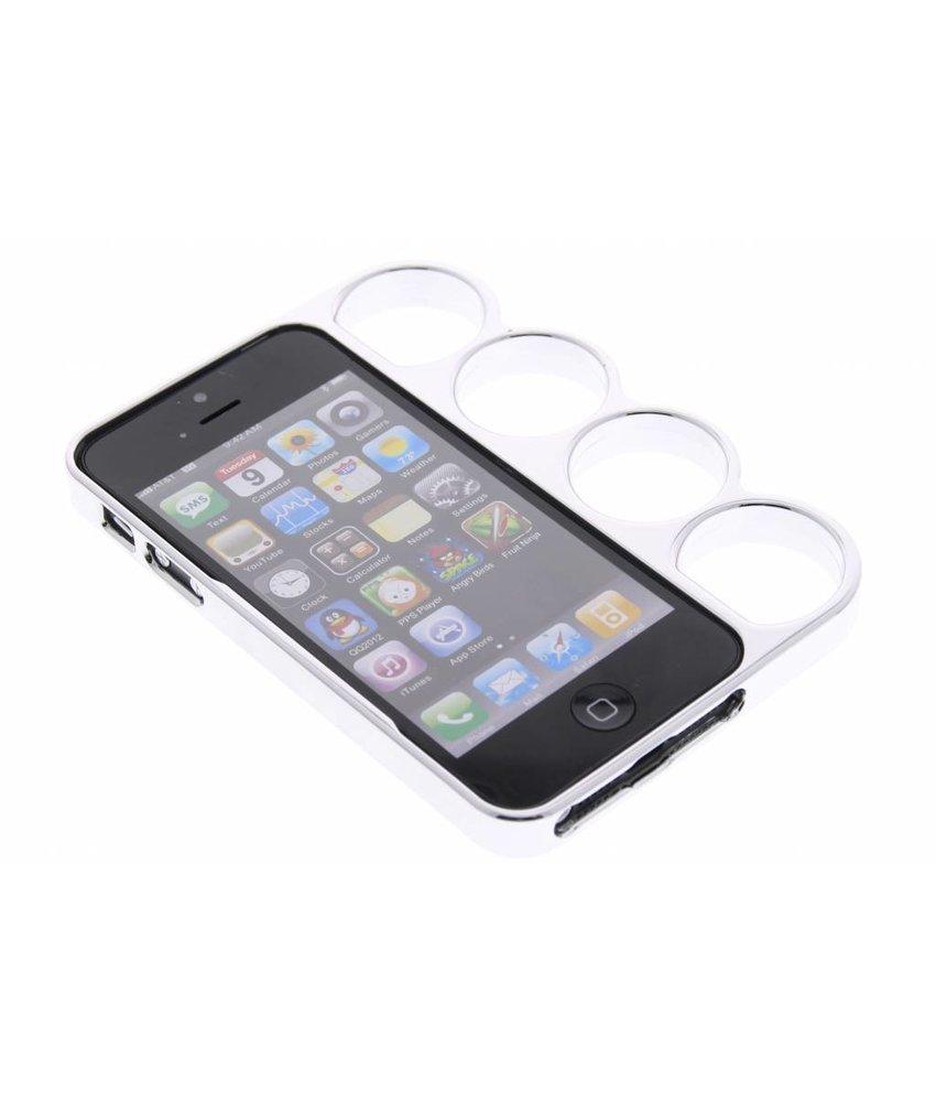 Zilver boksbeugel bumper iPhone 5 / 5s
