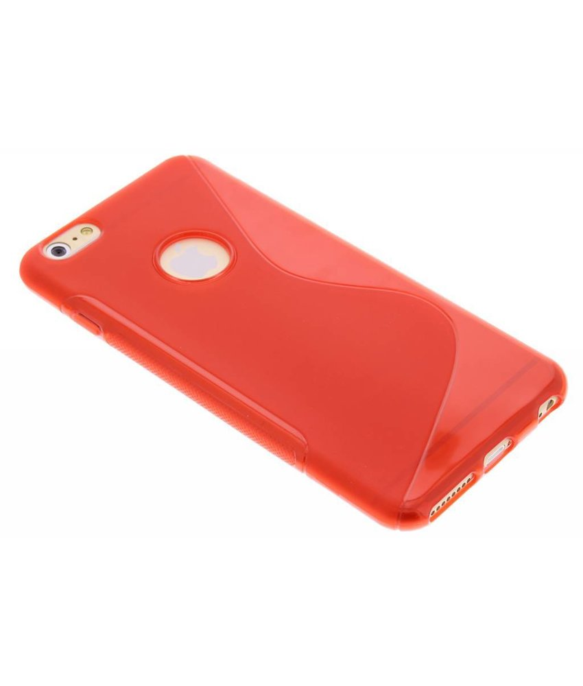 Rood S-line TPU hoesje iPhone 6(s) Plus