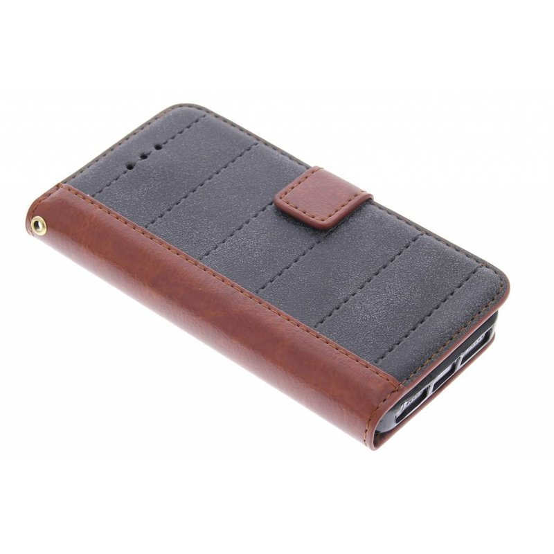 Business TPU booktype hoes iPhone 5 / 5s / SE