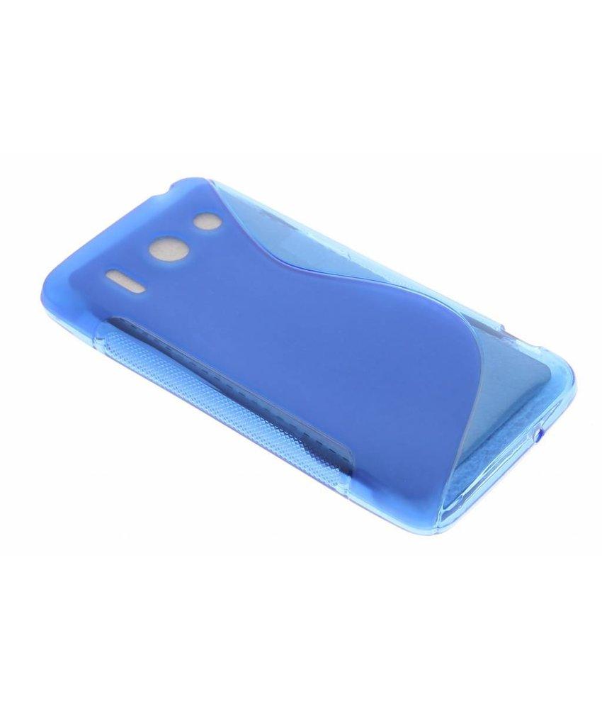 Blauw S-line TPU hoesje Huawei Ascend G510