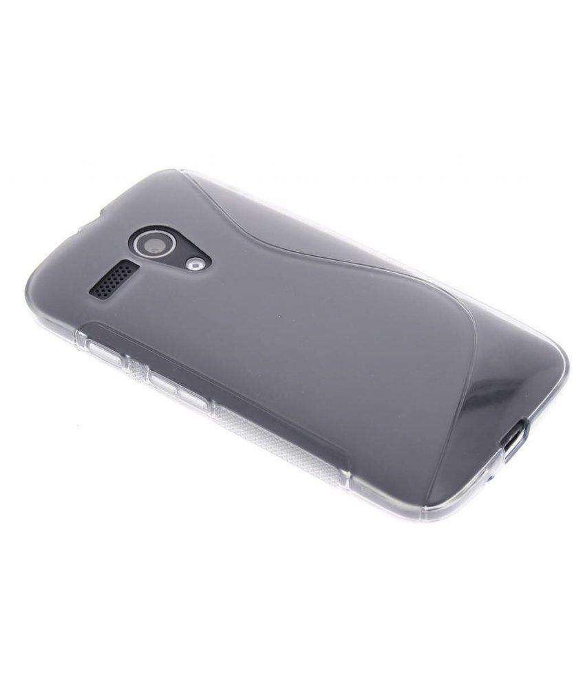 Grijs S-line TPU hoesje Motorola Moto G
