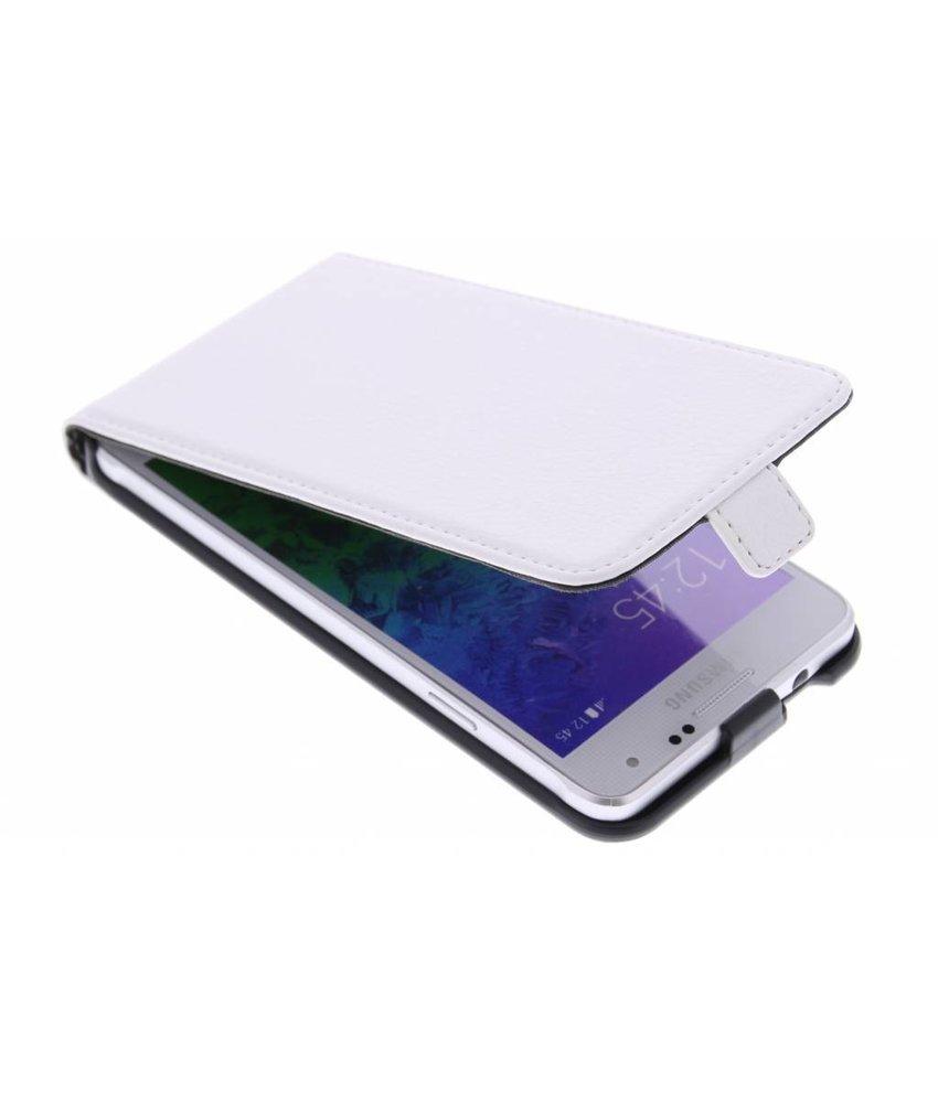 Muvit Slim Case Samsung Galaxy Alpha - Wit