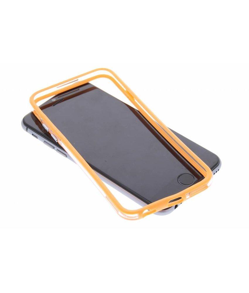 Oranje transparante bumper iPhone 6 / 6s