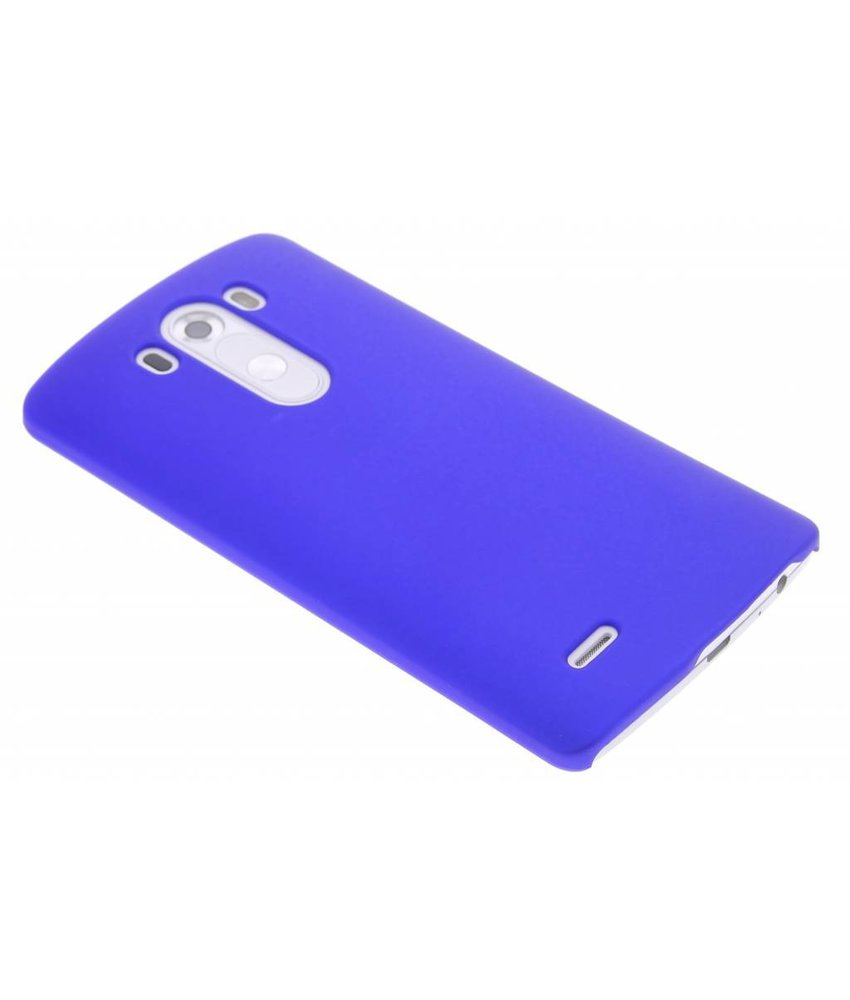 Blauw effen hardcase hoesje LG G3