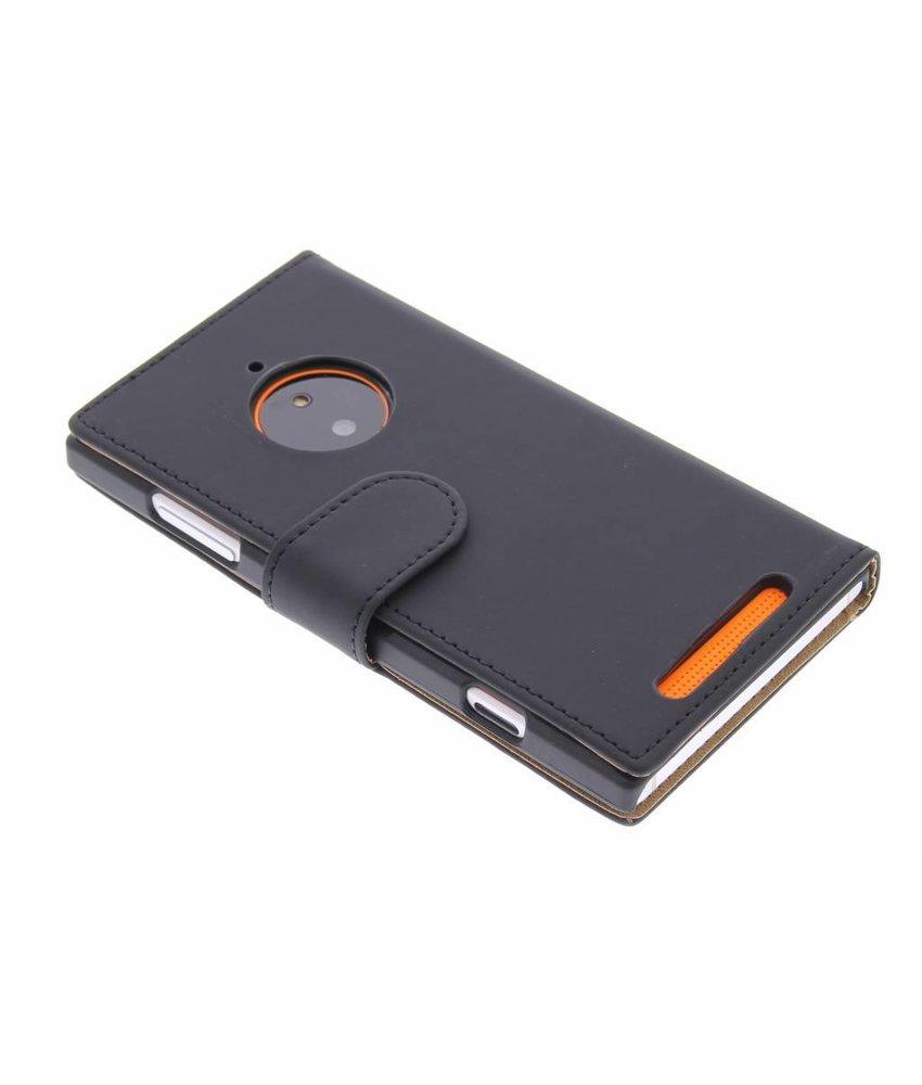 Zwart effen booktype Nokia Lumia 830