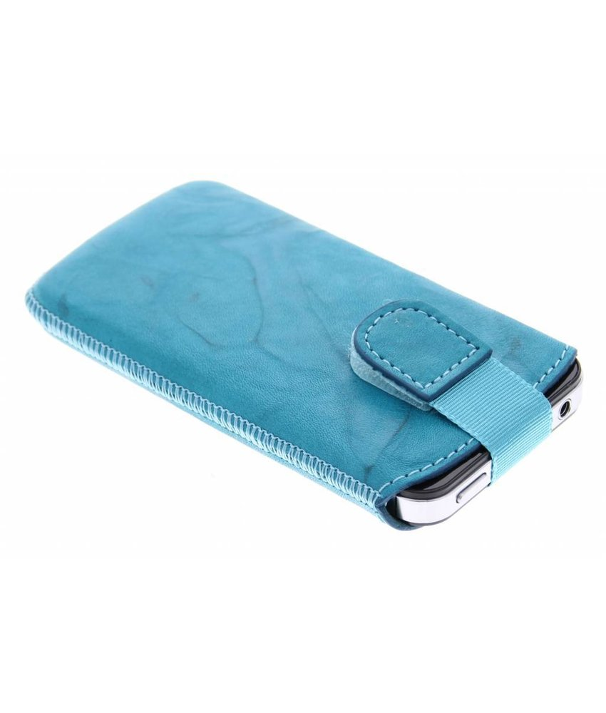 Mobiparts Uni Pouch Smoke maat M - turquoise