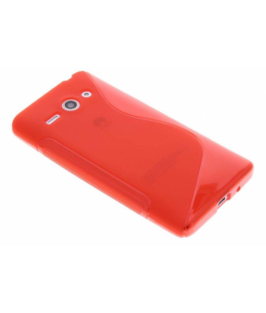 Rood S-line TPU hoesje Huawei Ascend Y530