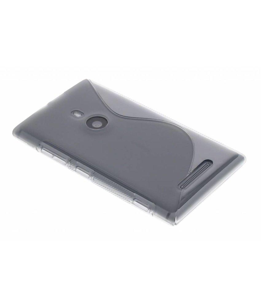 Grijs S-line TPU hoesje Nokia Lumia 925