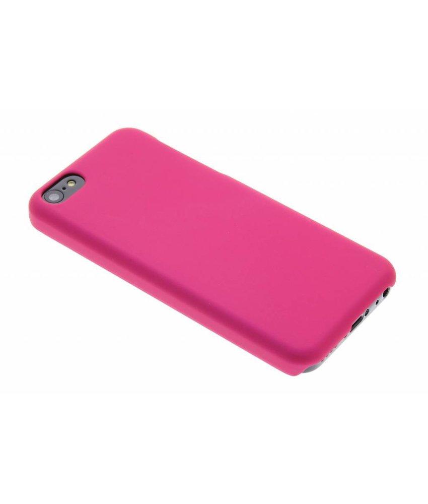 Fuchsia effen hardcase iPhone 5c