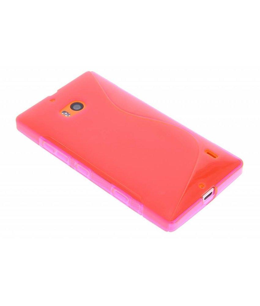 Rosé S-line TPU hoesje Nokia Lumia 930