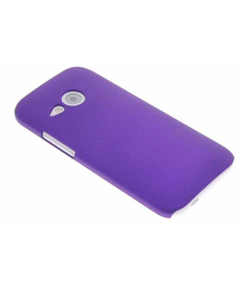Paars effen hardcase hoesje HTC One Mini 2