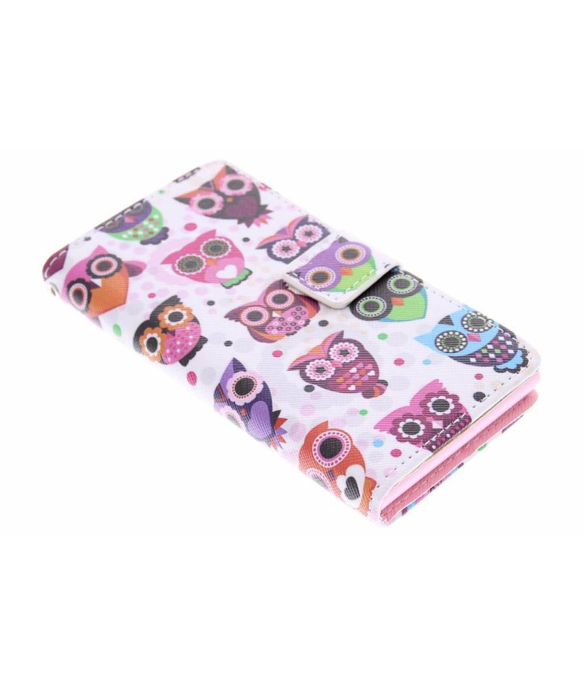Design TPU booktype hoes Huawei Ascend G6