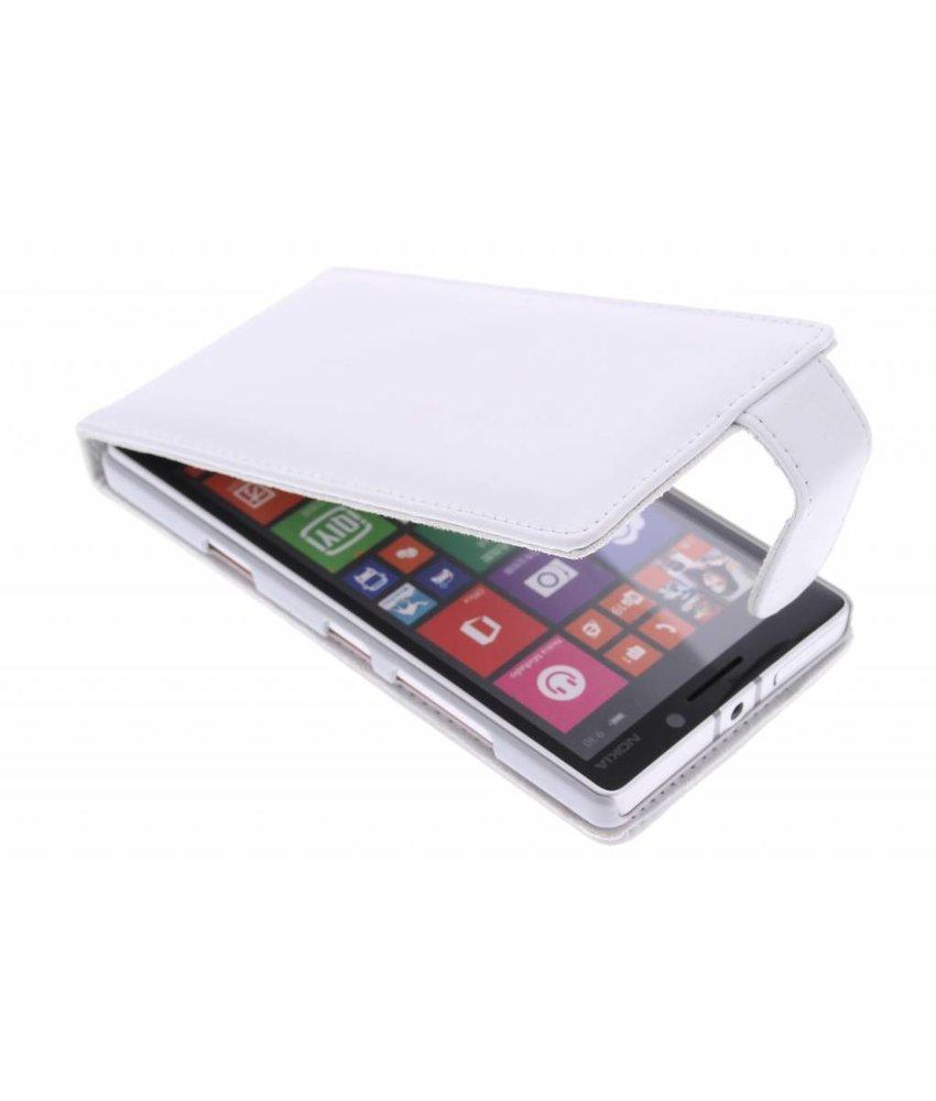Wit stijlvolle flipcase Nokia Lumia 930