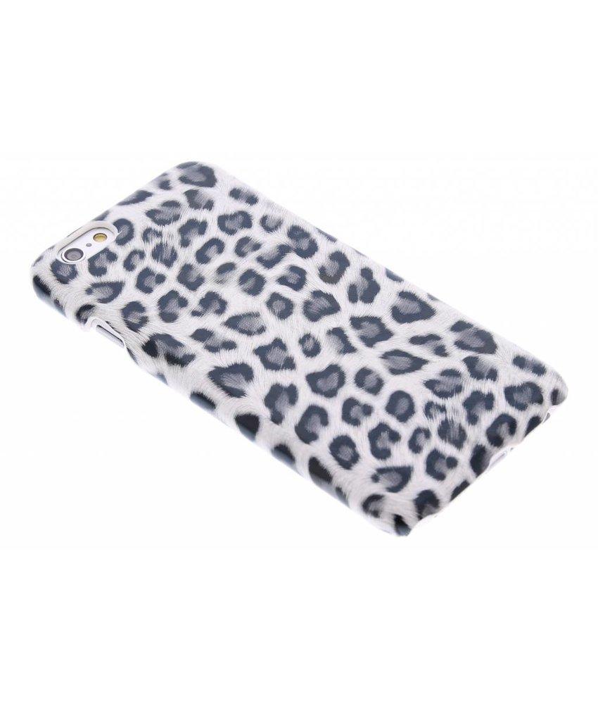 Grijs luipaard hardcase hoesje iPhone 6 / 6s