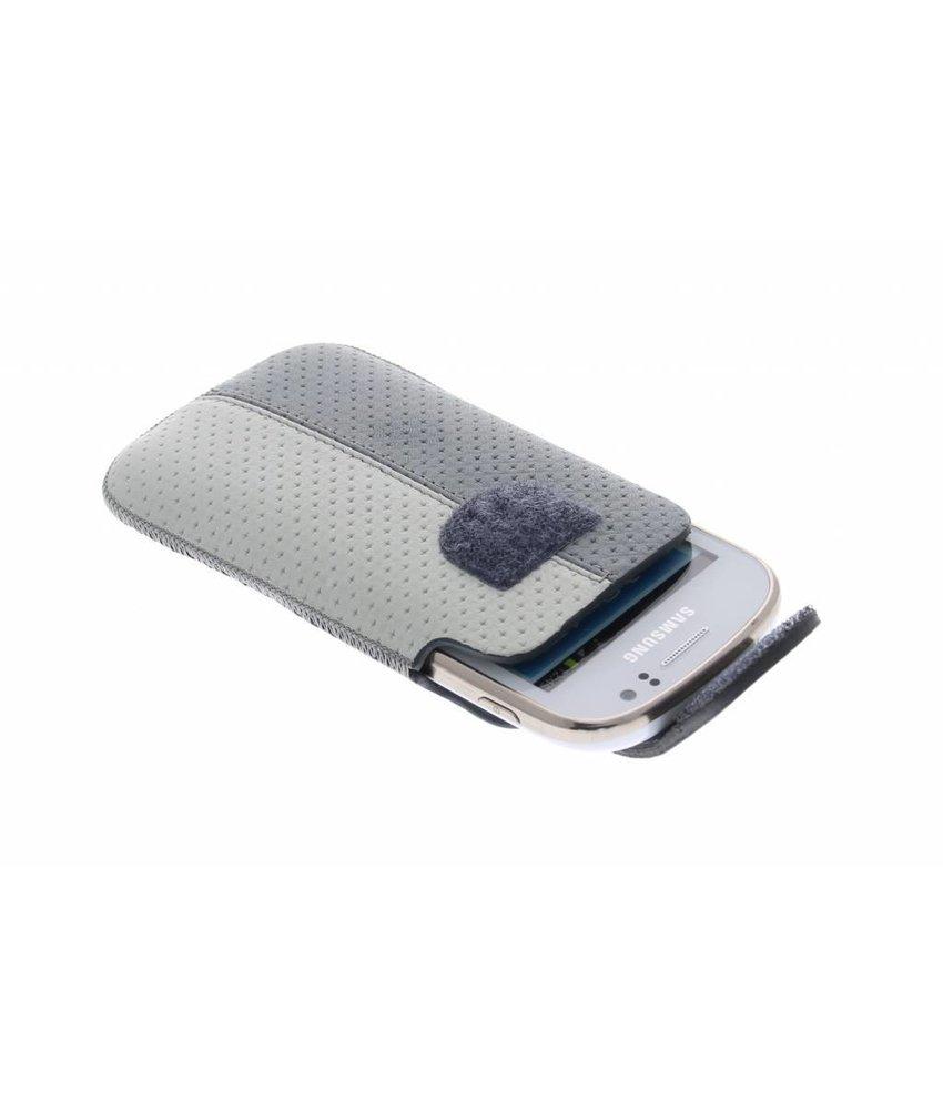 Bugatti grijs-wit pouch Samsung Galaxy Fame / Fame Lite