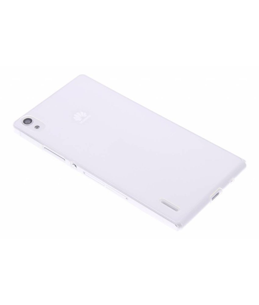Ultra thin transparant TPU hoesje Huawei Ascend P7
