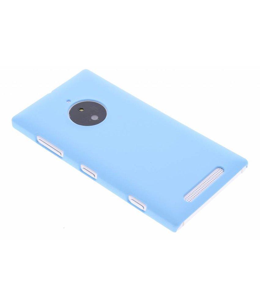 Turquoise effen hardcase hoesje Nokia Lumia 830