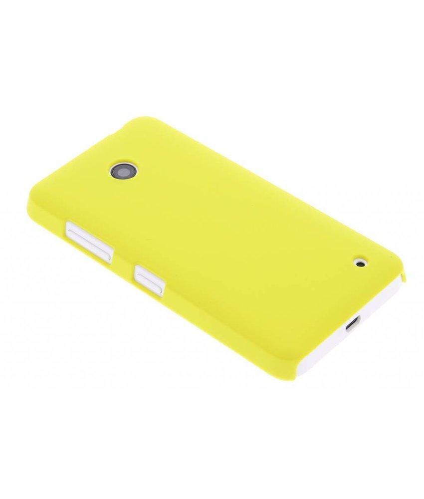Geel effen hardcase hoesje Nokia Lumia 630 / 635