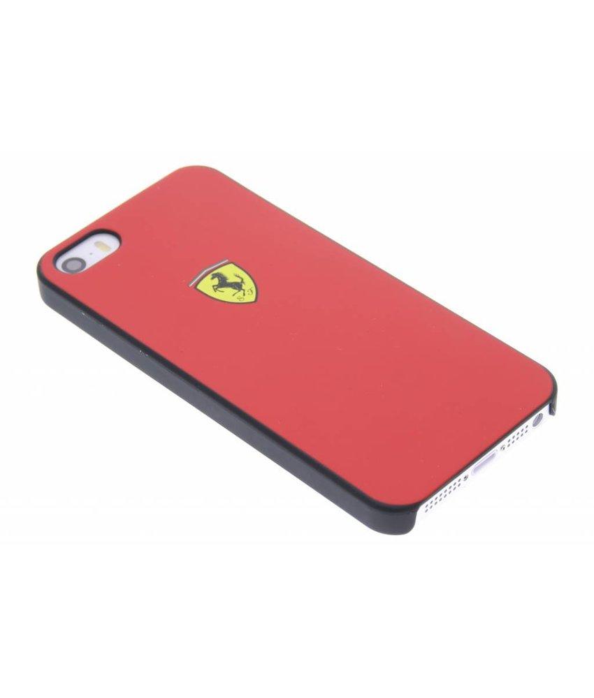 Ferrari hardcase hoesje iPhone 5 / 5s / SE