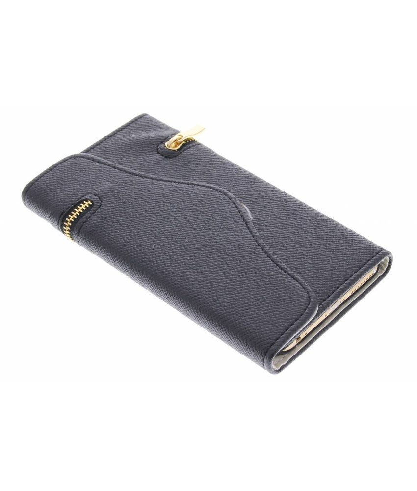 Zwart classic portemonnee hoesje iPhone 6(s) Plus