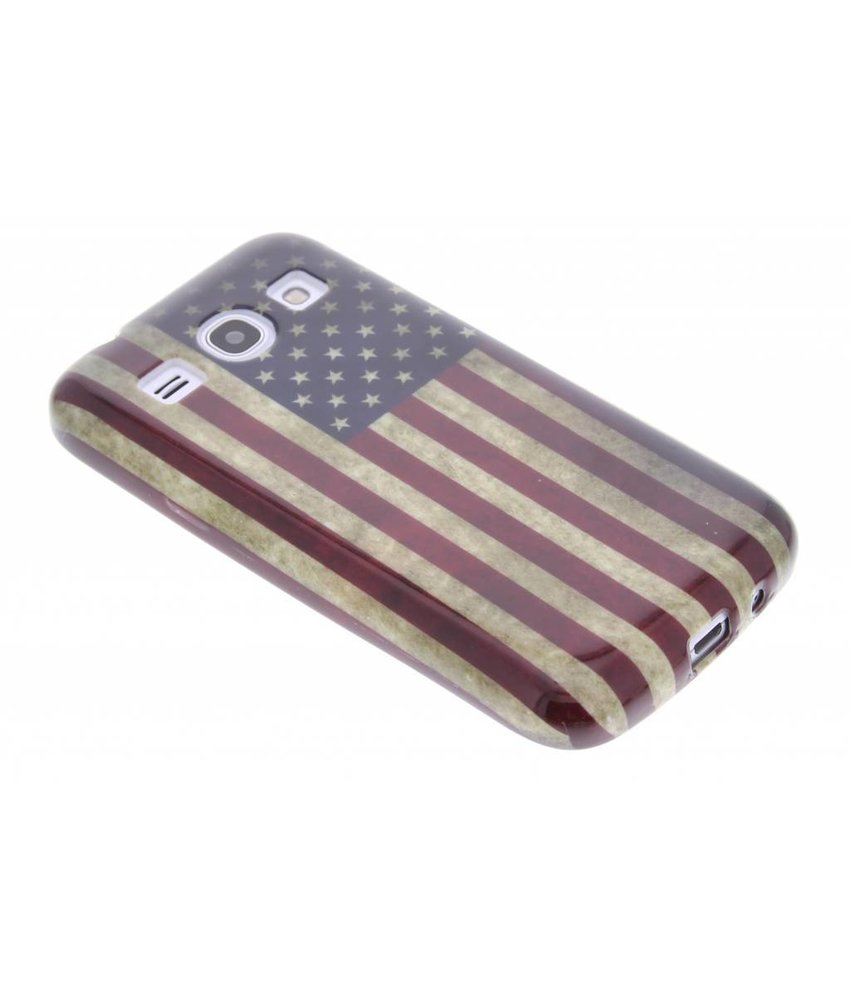 Design TPU siliconen hoesje Samsung Galaxy Core Plus