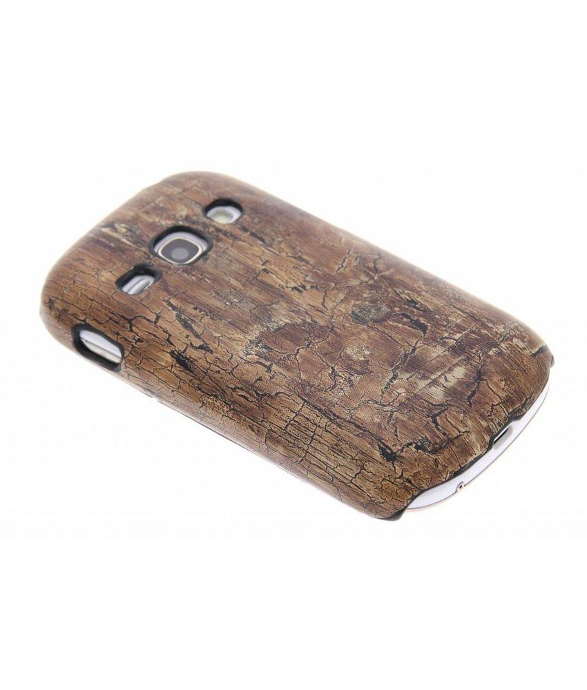 Hardcase hoesje hout design Samsung Galaxy Fame