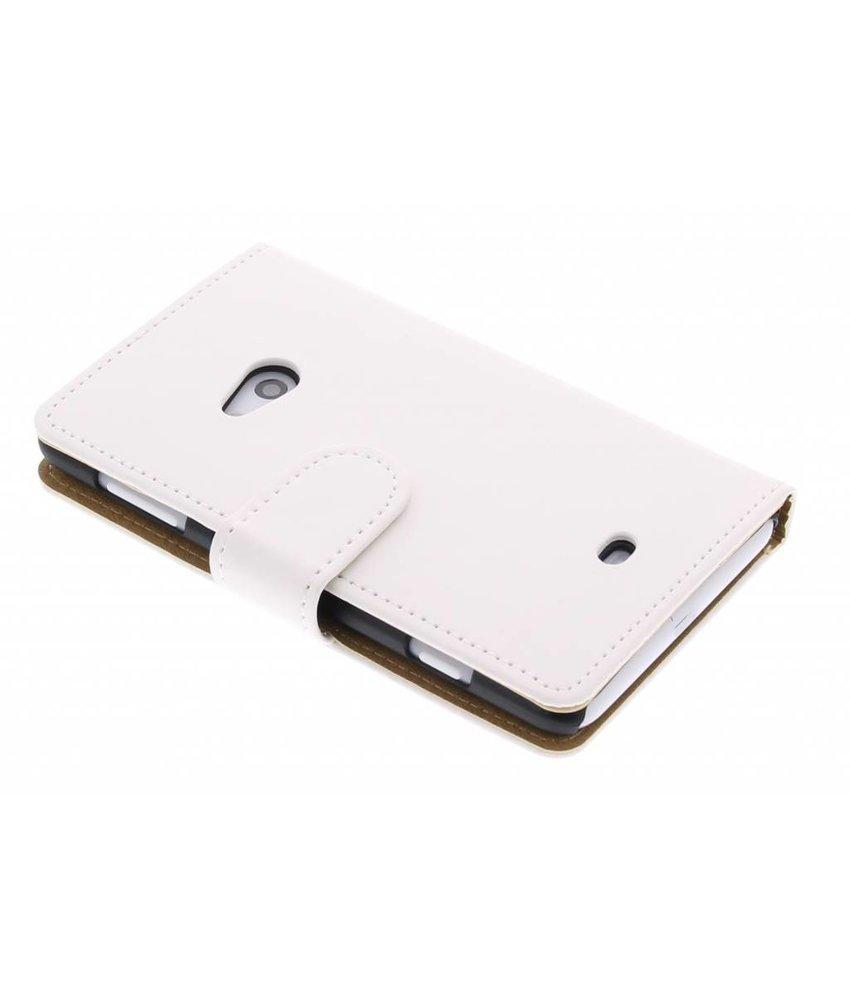 Wit matte booktype Nokia Lumia 625