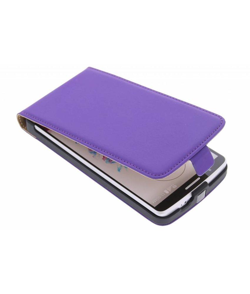 Mobiparts Premium flipcase LG G3 - Purple