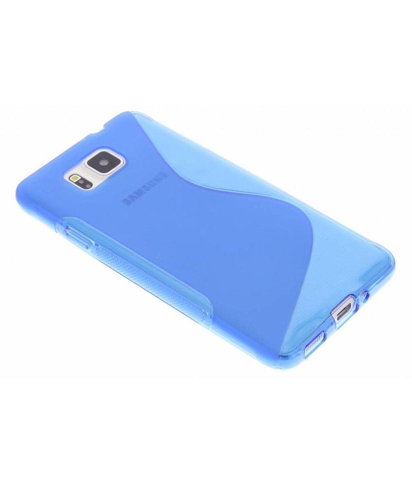 Blauw S-line TPU hoesje Samsung Galaxy Alpha