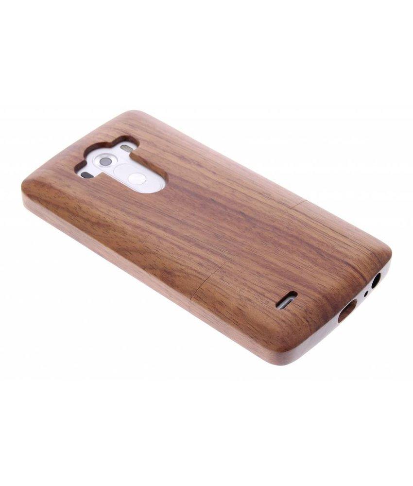 Echt houten hardcase hoesje LG G3