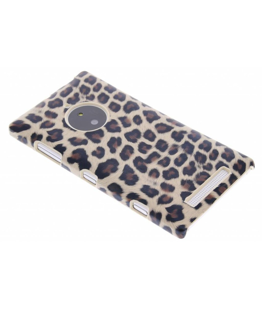 Luipaard design hardcase Nokia Lumia 830