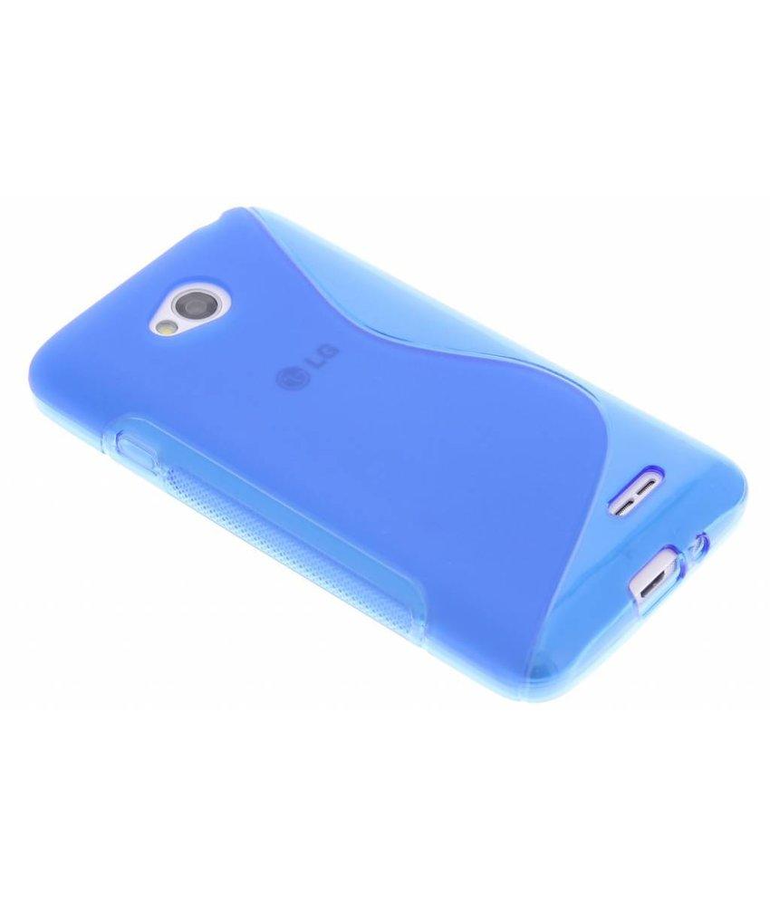Blauw S-line TPU hoesje LG L70 / L65