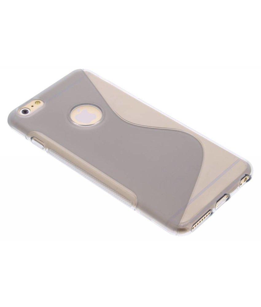 Grijs S-line TPU hoesje iPhone 6(s) Plus