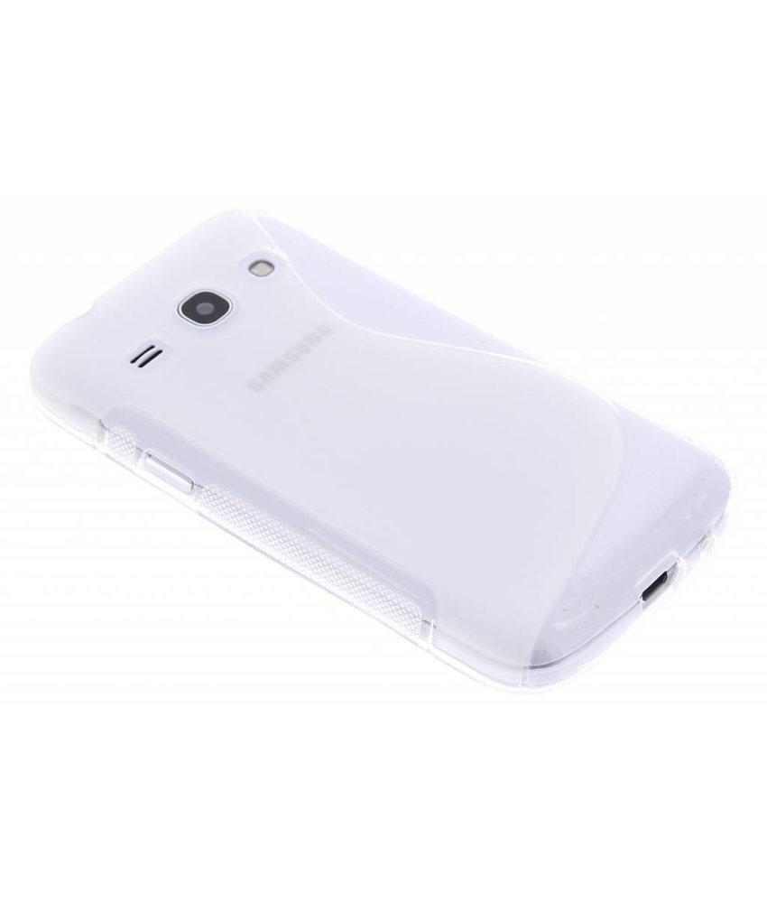Transparant S-line TPU hoes Samsung Galaxy Core Plus