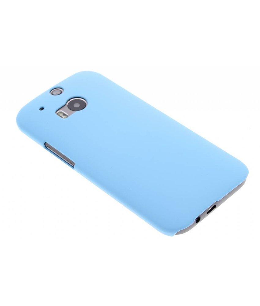 Turquoise effen hardcase HTC One M8 / M8s