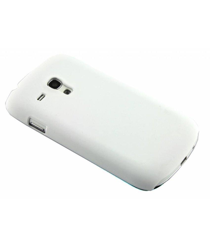 Wit effen hardcase Samsung Galaxy S3 Mini