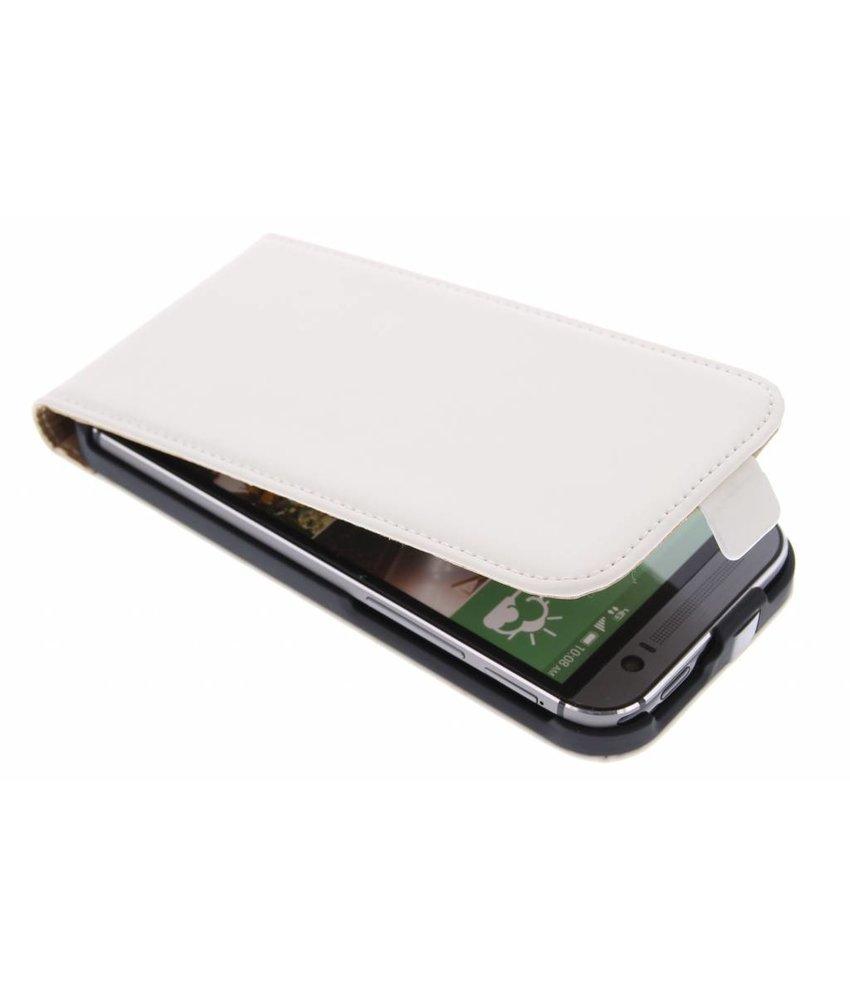Mobiparts Premium flipcase HTC One M8 / M8s