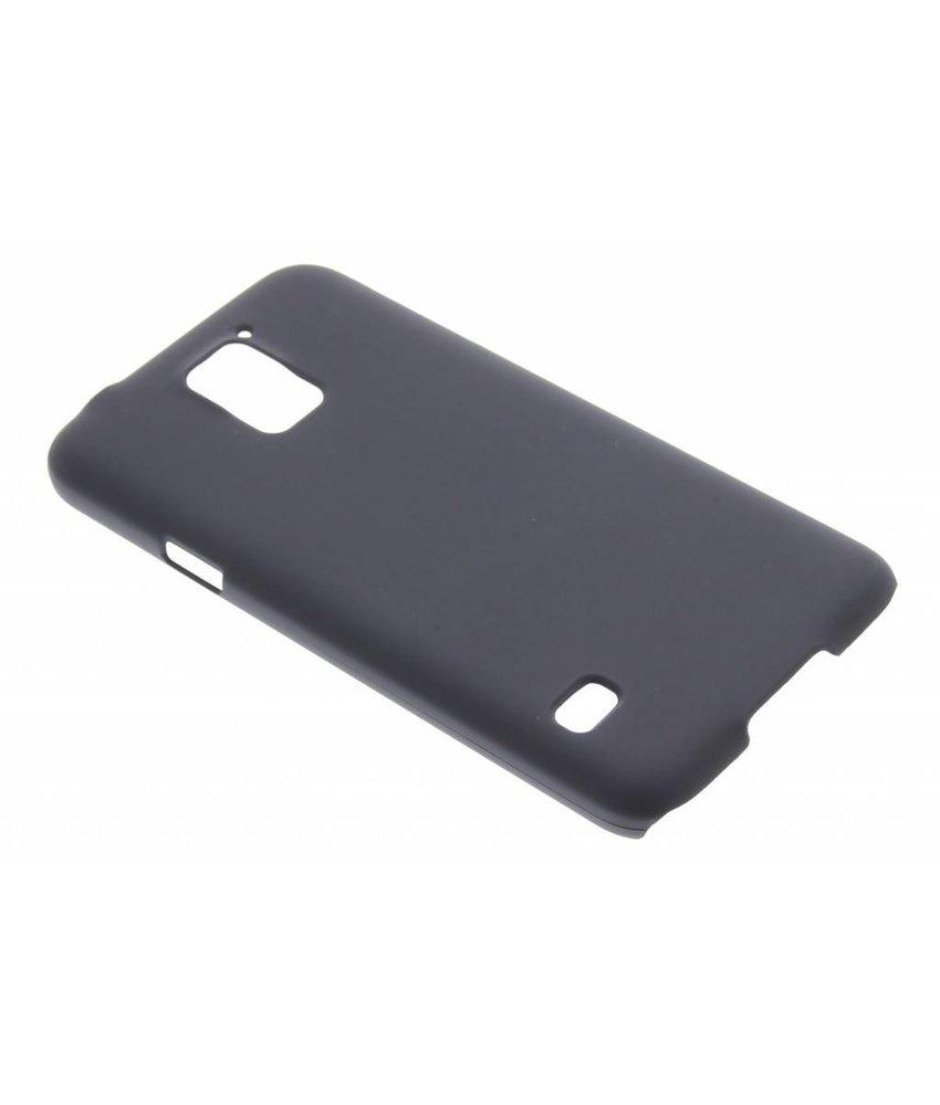 Zwart effen hardcase hoesje Samsung Galaxy S5 (Plus) / Neo