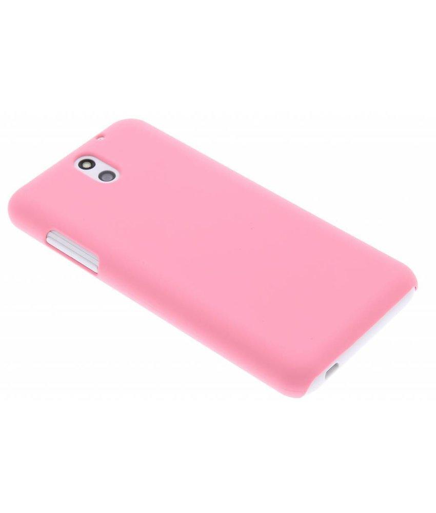 Roze effen hardcase hoesje HTC Desire 610