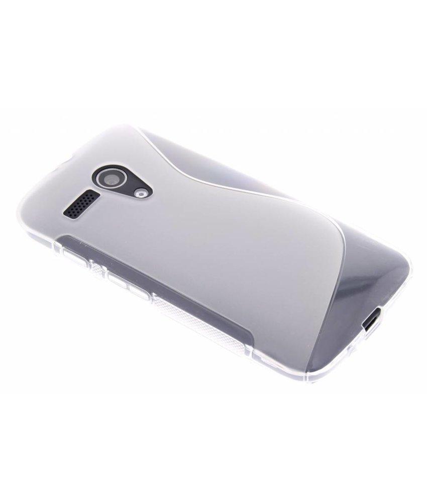 Transparant S-line TPU hoesje Motorola Moto G
